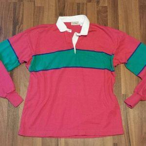 {L.L Bean} Rugby Shirt